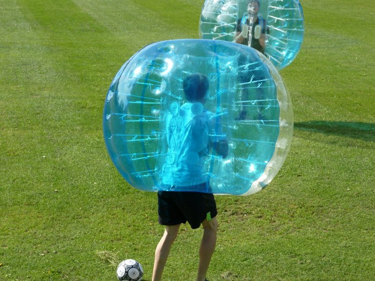 Bubbleball Wettkampf